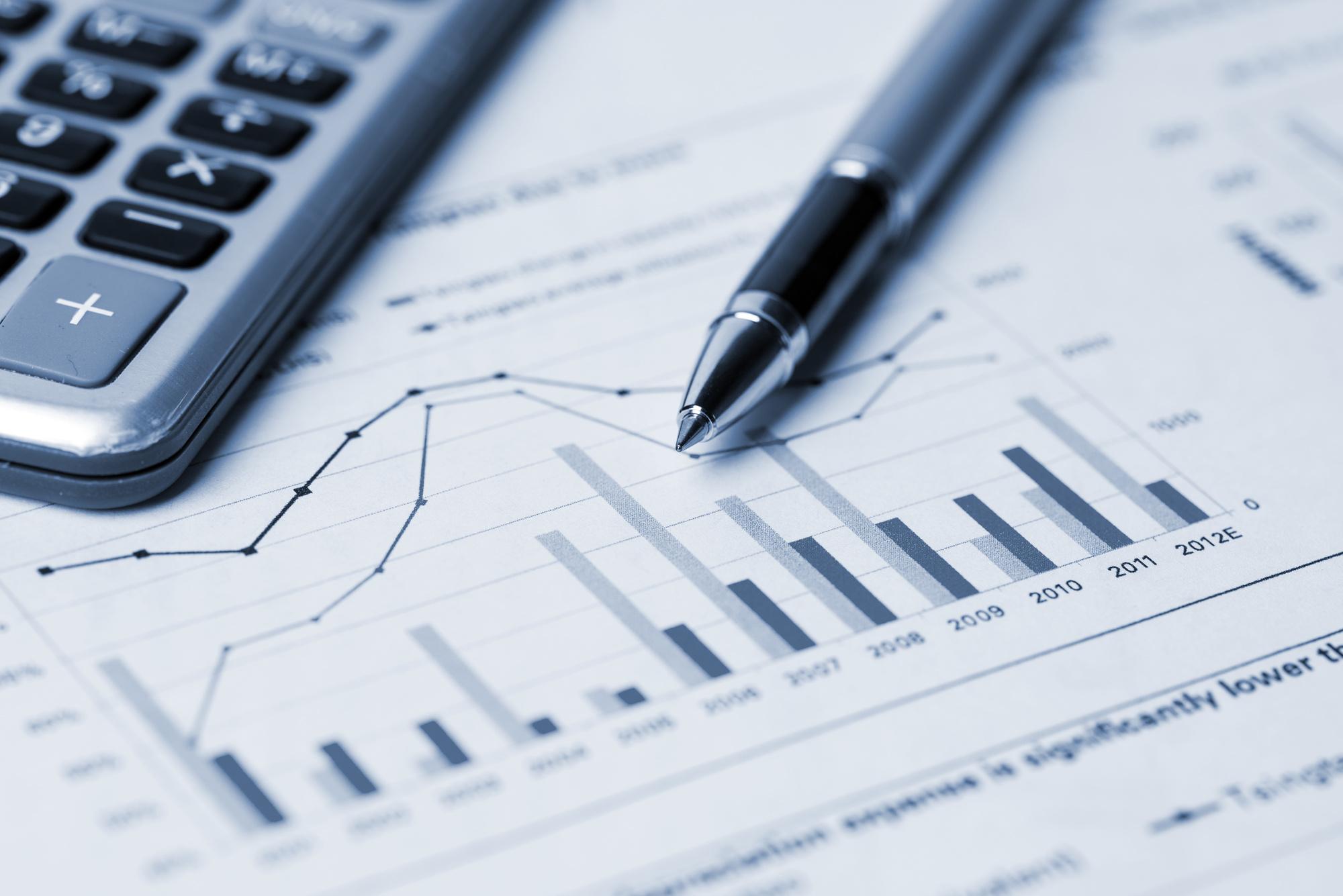 financial analysis concept