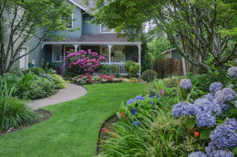 front yard curb appeal